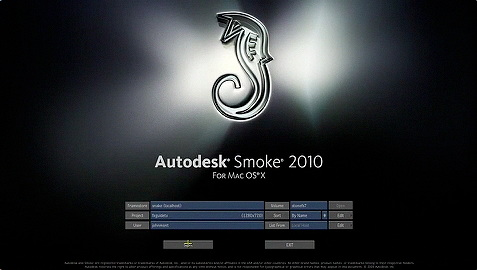 Autodesk Smoke 2010 for Mac